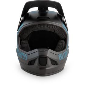 bluegrass Legit Helm petrol blue/black/texture